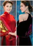 Thanh Tú, Kiều Anh tỏa sắc trong bộ sưu tập áo dài Lan Hương