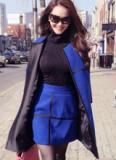 Á hậu Linh Chi 'sang chảnh' trên đường phố Seoul