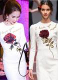 Ngọc Trinh nhanh chóng 'copy' thiết kế mới toanh của Dolce & Gabbana