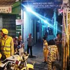 Ca sĩ Đỗ Linh bị giết, nghi can phóng lên nóc nhà tẩu thoát