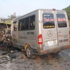 Tai nạn khiến 10 người chết: Tài xế chưa có bằng lái hạng D