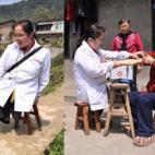 Bác sĩ 'không chân' vẫn miệt mài chữa trị cho bệnh nhân nghèo