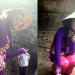 Hoa hậu Ngọc Hân diện áo bà ba đi cổ vũ bắt cá sấu