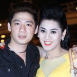 Lâm Chi Khanh và người yêu gây chú ý ở Hà Nội