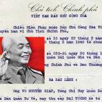 Sắc lệnh của Bác Hồ phong hàm cho vị Đại tướng đầu tiên
