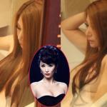 Nữ ca sỹ Trung Quốc bị chụp trộm ảnh tắm trần