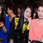 Sao Việt nô nức đi xem chung kết 'Gương mặt thân quen'
