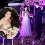 Ảnh cưới lãng mạn của Bích Huyền