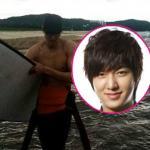Lee Min Ho ngực trần khoe cơ thể săn chắc