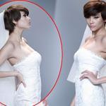 Hoàng Yến lạ lẫm tóc tém làm cô dâu đẹp kiêu kỳ