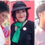 Thẩm Thúy Hằng 'đội mưa' đi cúng Tổ cùng dàn sao Việt