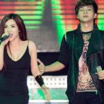 'Bạn gái tin đồn' lên sân khấu hát cùng Hồ Quang Hiếu