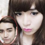 Bất ngờ với hình ảnh giả gái xinh ngất ngây của BB Trần