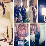 Đám cưới Ngô Quỳnh Anh lung linh nơi lễ đường