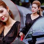 Maria Đinh Phương Ánh lái xế sang đi hát từ thiện