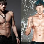 Body đẹp từng centimet của mỹ nam Hoa - Hàn