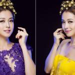 Jennifer Phạm đầy quyến rũ với sắc tím - vàng hoàng gia