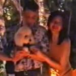 Rò rỉ cảnh thái tử phi Thái Lan hở ngực mừng sinh nhật cún cưng