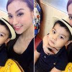 Bạn gái cũ Trấn Thành khoe ảnh tình cảm đưa con trai đi chơi