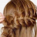 2 phút cho kiểu tóc tết chéo tuyệt đẹp cho quý cô công sở