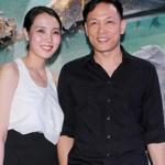 Đạo diễn Ngô Quang Hải rủ vợ Hoa hậu đi xem phim