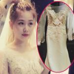 Hé lộ váy cưới tuyệt đẹp của hot girl Mi Trần