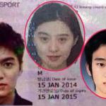 Phì cười trước ảnh thẻ 'ngô nghê' của sao châu Á