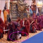 Bật cười diễn viên 'Võ Tắc Thiên' lộ cẳng chân trần
