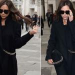 Victoria Beckham thanh lịch và điệu đà trên phố