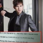 Nguyên Vũ nhận cát sê nửa tỉ đồng để hát 4 bài