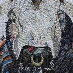 Cô gái biến hóa mác quần áo thành tác phẩm nghệ thuật