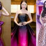 Người đẹp Việt chật vật với váy áo cồng kềnh