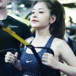 Hot girl Việt khoe dáng trong phòng tập gym