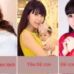 Khám phá những lý do sinh nhiều con của sao Việt