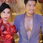 'Ma nữ' Nguyễn Băng Khuê gây chú ý tại sự kiện ra mắt phim