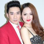 Quang Hà tình tứ bên Hương Giang Idol sau chia tay bạn gái