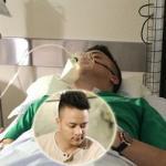 Cao Thái Sơn nhập viện và dùng máy trợ thở