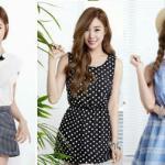 Học lỏm cách diện thời trang sát nách mùa hè đẹp như Tiffany (SNSD)