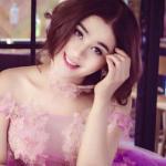 Khanh Chi Lâm trở lại với hình ảnh 'công chúa'