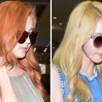 Yoona tóc vàng 'nổi bần bật' sánh đôi cùng Seohyun