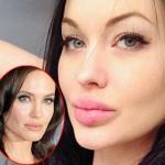 Xuất hiện phiên bản 'dao kéo' của Angelina Jolie