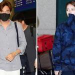 Lee Min Ho và bạn gái rạng rỡ ở sân bay khi về nước cùng một ngày
