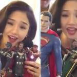 Miu Lê khoe bộ sưu tập 'Avengers và X men' đáng yêu