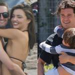 Miranda Kerr mải mê đi chơi với tình trẻ trong khi chồng cũ trông con