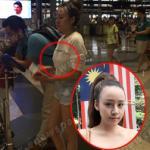 Bà Tưng bị báo Malaysia soi không mặc áo ngực khi xuất hiện ở sân bay