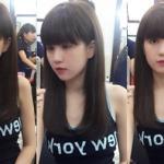 Ngọc Trinh trẻ trung như gái 15 sau khi thay đổi kiểu tóc