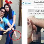 Chồng Phi Thanh Vân phải chặt ngón tay để xin lỗi vợ?