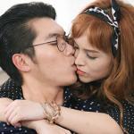 Trương Nam Thành hôn hot girl đắm đuối sau khi quay lại với bạn gái