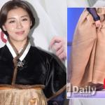 Ha Ji Won bị chỉ trích vì đi giày cao gót khi mặc hanbok