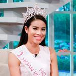 Hoa hậu Phạm Hương chuẩn bị học thạc sĩ